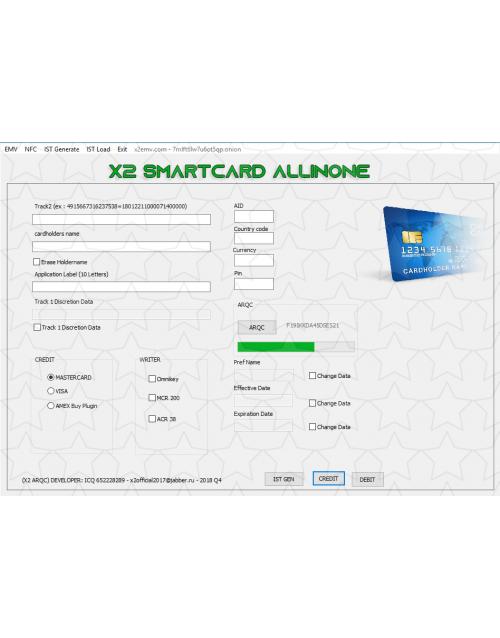 X2 ARQC emv software
